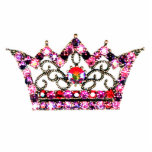 Royal Tiara sculpture - Customised Photo Cut Out