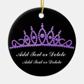 Royal Tiara  - SRF Christmas Ornament