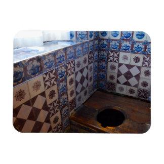 Royal Toilet in Rosenborg Castle, Copenhagen Vinyl Magnet