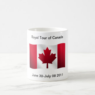 Royal Tour of Canada Coffee Mugs