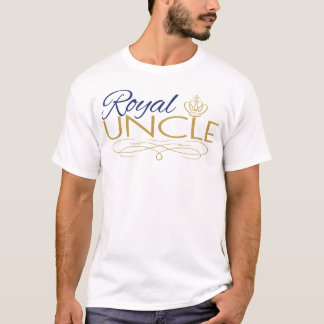 Royal UNCLE Baby Shower T Shirt