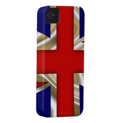 Royal Union Flag - Great Britain Case-Mate iPhone 4 Cases