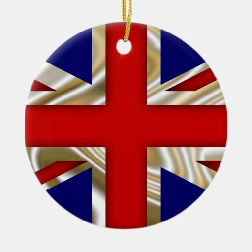 Royal Union Flag - Great Britain Christmas Ornament