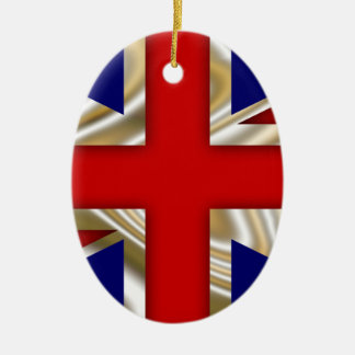 Royal Union Flag - Great Britain Christmas Tree Ornaments