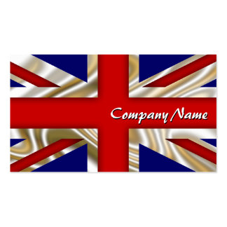 Royal Union Flag - Great Britain Pack Of Standard Business Cards