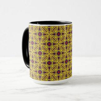 Royal Vintage Kaleidoscope Combo Mug