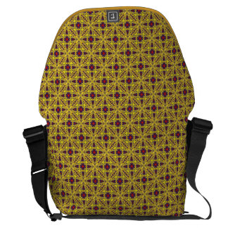 Royal  Vintage Kaleidoscope    Courier Bags