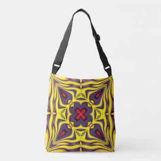 Royal Vintage Kaleidoscope  Cross Body Bag