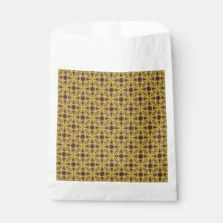 Royal Vintage Kaleidoscope  Favor Bags