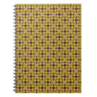 Royal   Vintage Kaleidoscope    Notebook