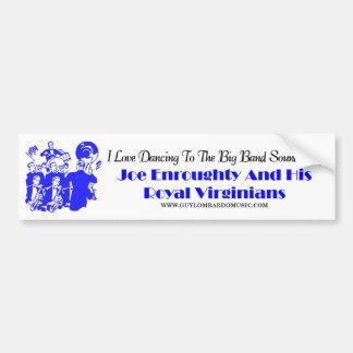 Royal Virginians Bumper Sticker