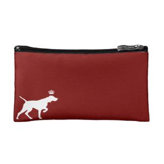 Royal Vizsla cosmetics bag