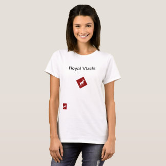 Royal Vizsla t-shirt female