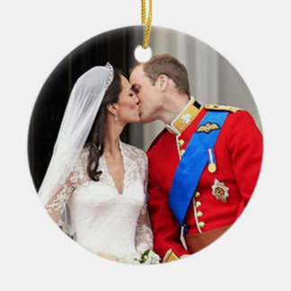 Royal Wedding Christmas Ornament