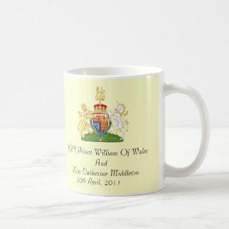 Royal Wedding Coat Of Arms Commemorative Mug