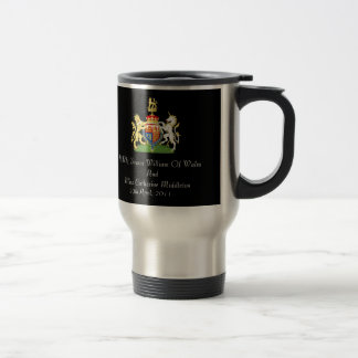 Royal Wedding Coat Of Arms Travel Mug