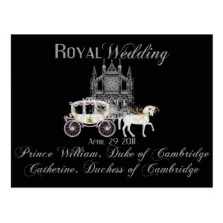 Royal Wedding Collectible Postcard