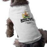 Royal Wedding Corgi Coat - clearer font Sleeveless Dog Shirt