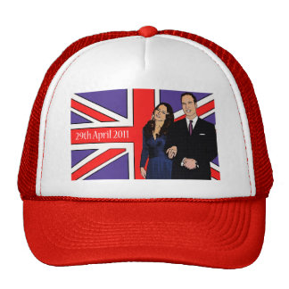 Royal Wedding goes to your head Cap