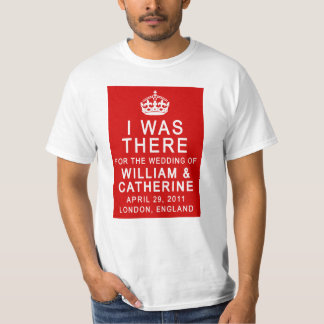 Royal Wedding I WAS THERE Tshirts