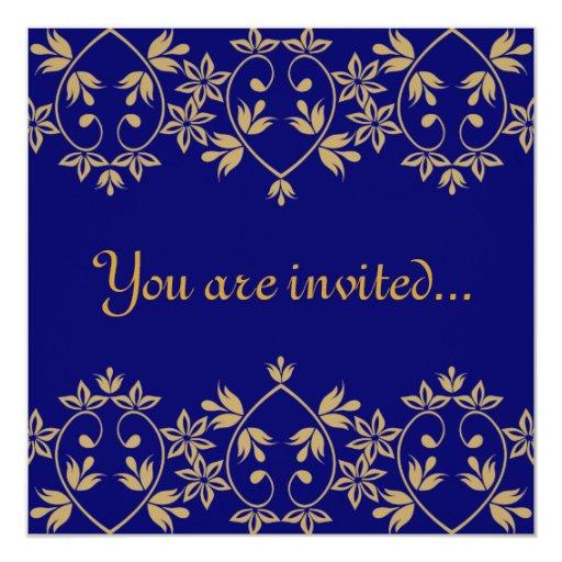 Royal Wedding Invitations 13 Cm X 13 Cm Square Invitation Card