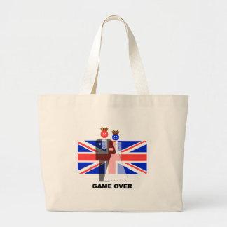 royal wedding jumbo tote bag