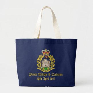 Royal Wedding Large Tote Bag