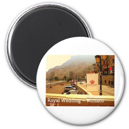 Royal Wedding - Monaco Magnet