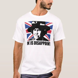 Royal Wedding: One is Disappoint (The Queen) T-Shirt