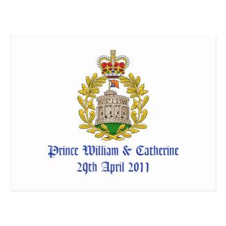 Royal Wedding Postcard