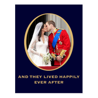 Royal Wedding Postcard