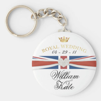 Royal Wedding - Prince William & Kate Collectibles Key Ring