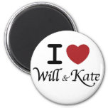 Royal Wedding Souvenirs for William and Kate 6 Cm Round Magnet