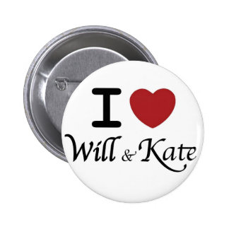 Royal Wedding Souvenirs for William and Kate 6 Cm Round Badge