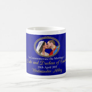 Royal Wedding The Duke and Duchess of Cambridge Coffee Mug