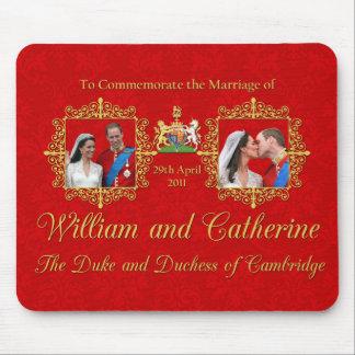 Royal Wedding The Duke and Duchess of Cambridge Mouse Mat