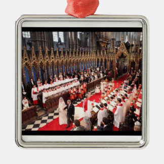 Royal Wedding Westminster Abbey Ornament