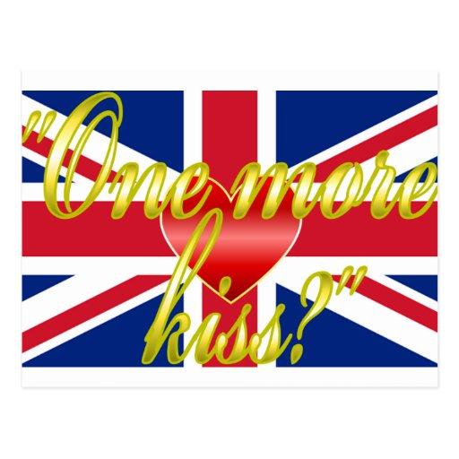 Royal Wedding Whispers Postcard