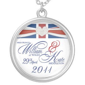 Royal Wedding - William & Kate Collectable Pendant