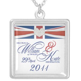 Royal Wedding - William & Kate Keepsake Necklaces