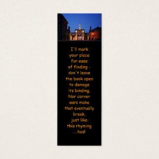 Royal William Yard Entranceway bookmarks Mini Business Card