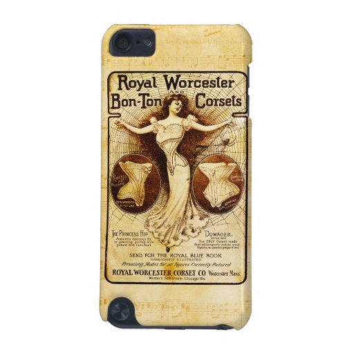 Royal Worcester corsets iPod Touch (5th Generation) Cover