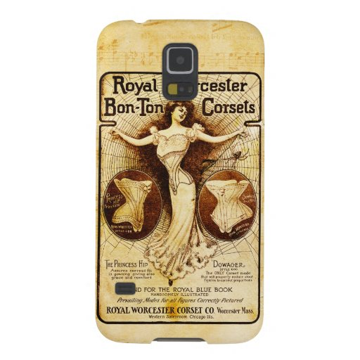 Royal Worcester corsets Galaxy S5 Cover