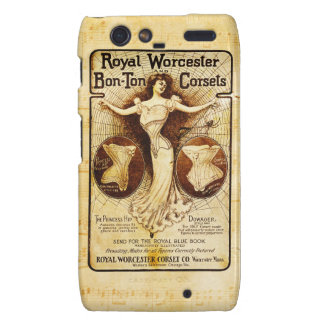 Royal Worcester corsets Motorola Droid RAZR Case