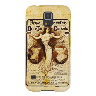 Royal Worcester corsets Galaxy S5 Case