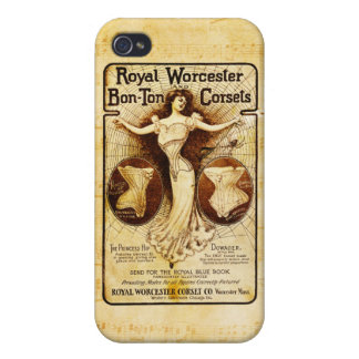Royal Worcester corsets iPhone 4 Case
