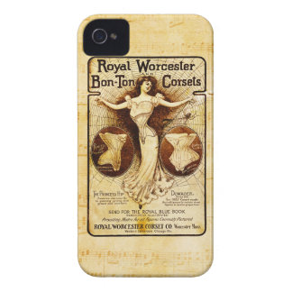 Royal Worcester corsets iPhone 4 Cover