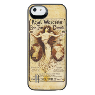 Royal Worcester corsets iPhone SE/5/5s Battery Case