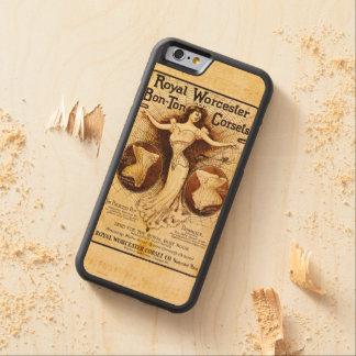 Royal Worcester corsets Maple iPhone 6 Bumper Case