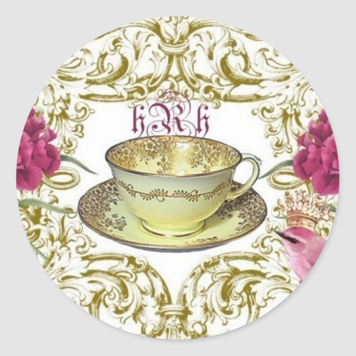 Royale Tea, French Inspired Stickers